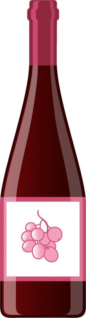 Bouteille de vin - Bouteille en verre